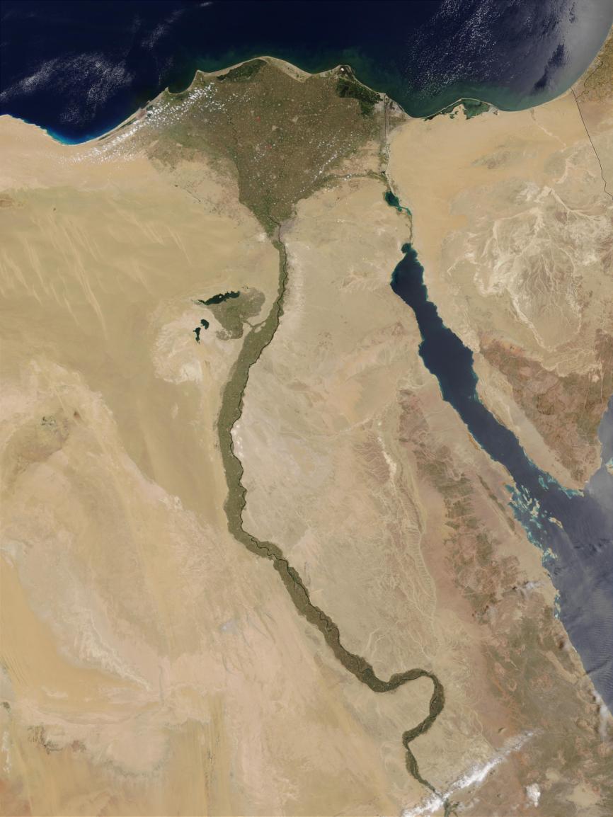 The Nile Delta, Egypt