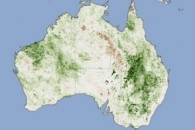 A Summer of Rain Paints Eastern Australia Green