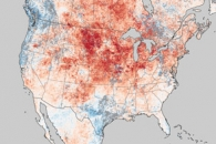 Historic Heat in North America Turns Winter to Summer
