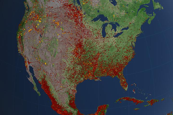 U.S. Fires 2012