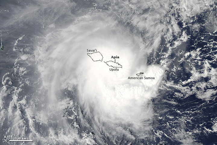 Tropical Cyclone Evan
