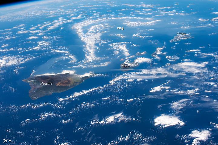 Volcanoes, Vog, and Vortices