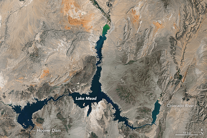 Visualizing the Highs and Lows of Lake Mead
