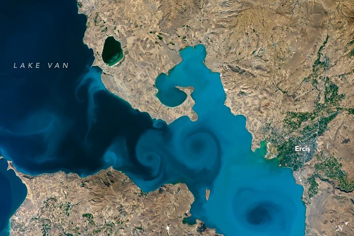 Lake Van, Turkey
