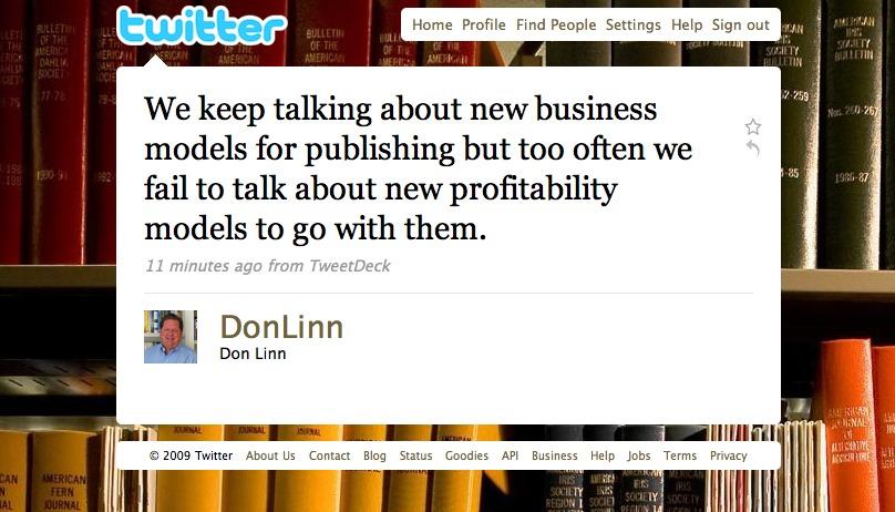 Profit is good!