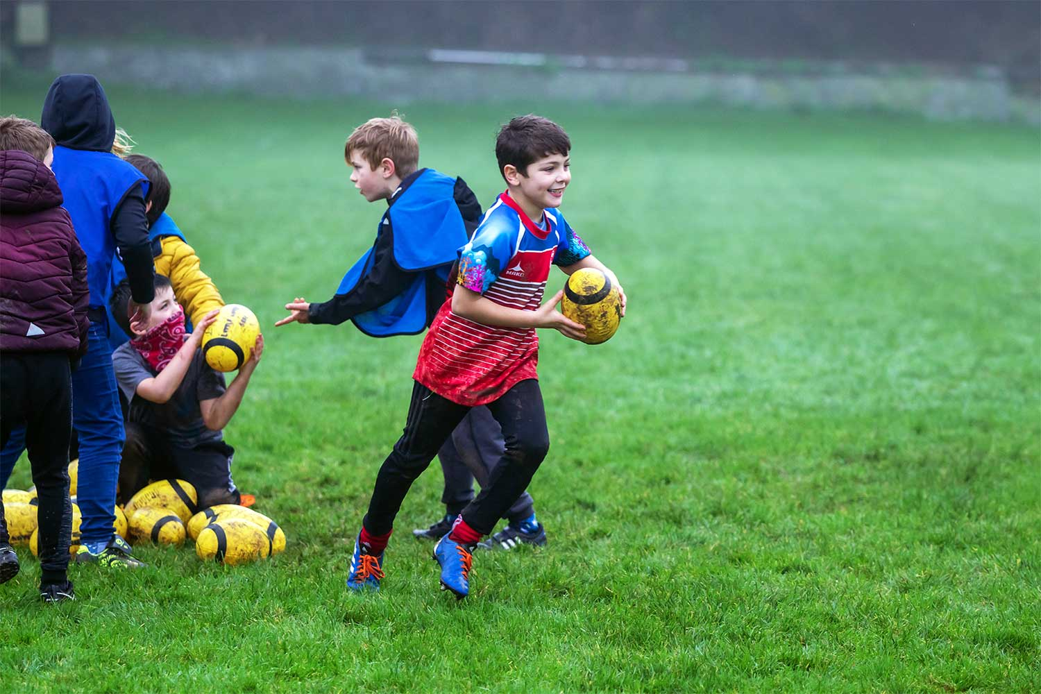 Eolas+ GrassRoots Rugby Camp Salcombe RFC