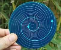 spirale levogyre