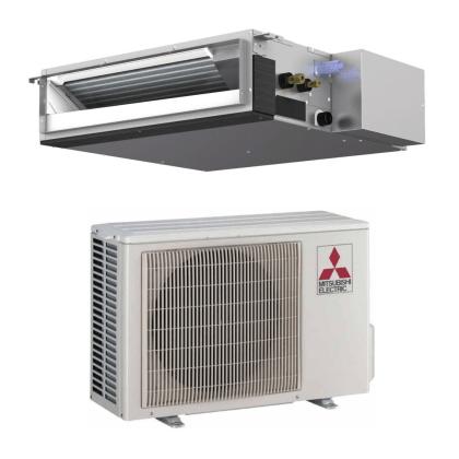 Mitsubishi Electric kanalni klima uređaj 2.5 kW DC Inverter