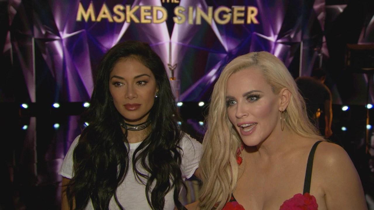 Jenny McCarthy & Nicole Scherzinger Introduce A Masked