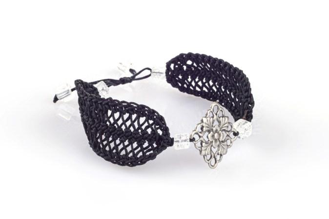 SHANNEN Bracelet en crochet - Fait main