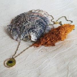 SHIVONNE sautoir en crochet - fait main - modèle unique