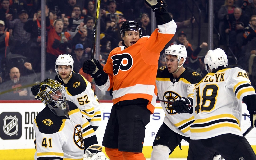 Flyers Pull Off Big Comeback, 6-5