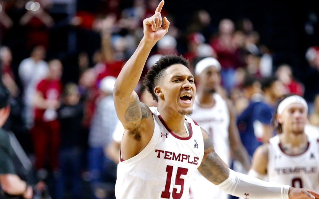Temple Outlasts UConn, 93-89