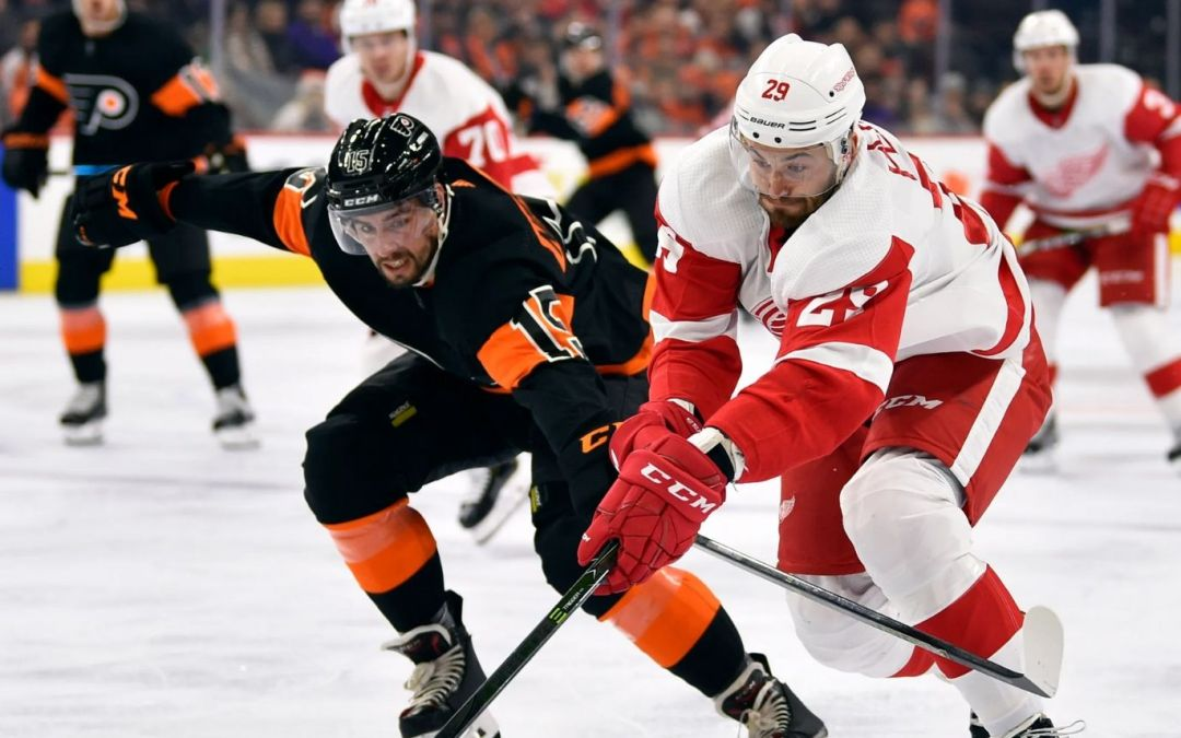 Flyers Clip Red Wings, 3-0