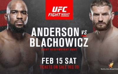 UFC Fight Night: Corey Anderson v Jan Blachowicz Results