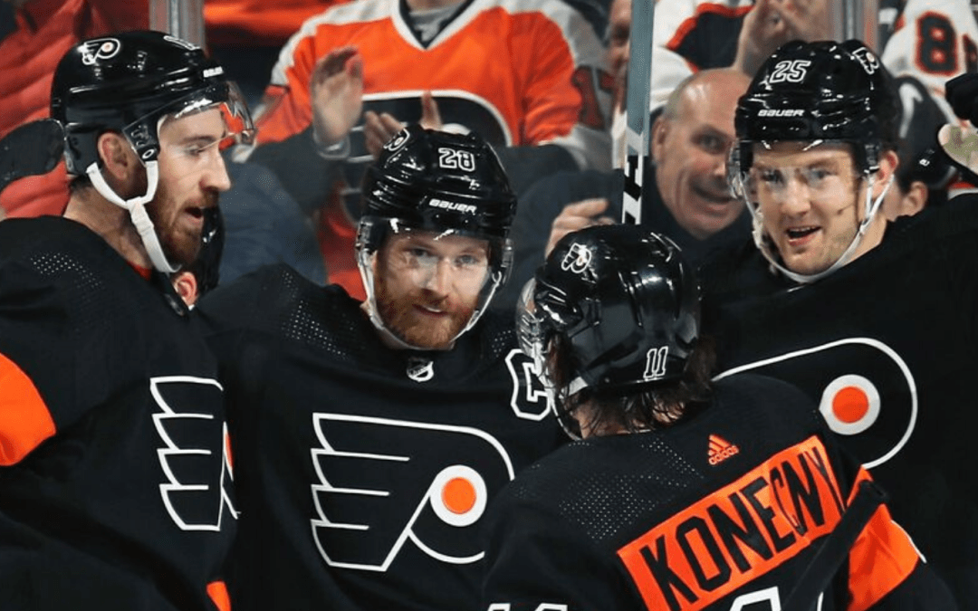 The Flyers Bury the Avalanche