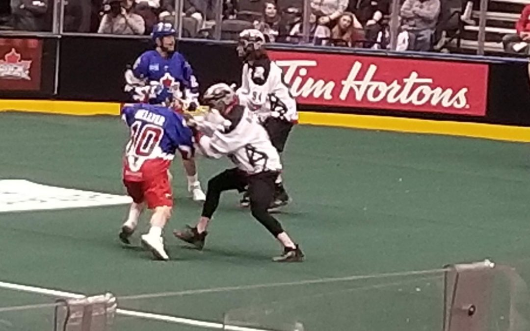 Roughnecks Grind Out Victory Over Unorganized Rock