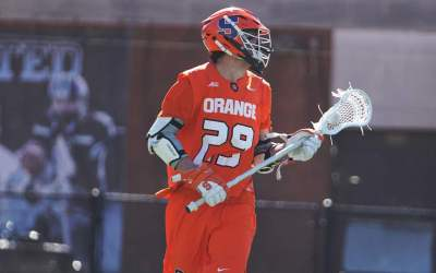 Syracuse Men's Lax Moves to 5-0 by Dominating JHU