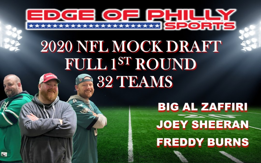 2020 NFL MOCK DRAFT – 1ST ROUND