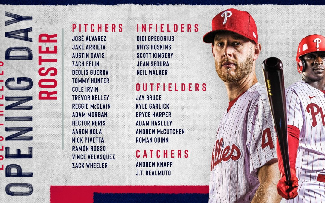 Phillies Opening Day Roster!