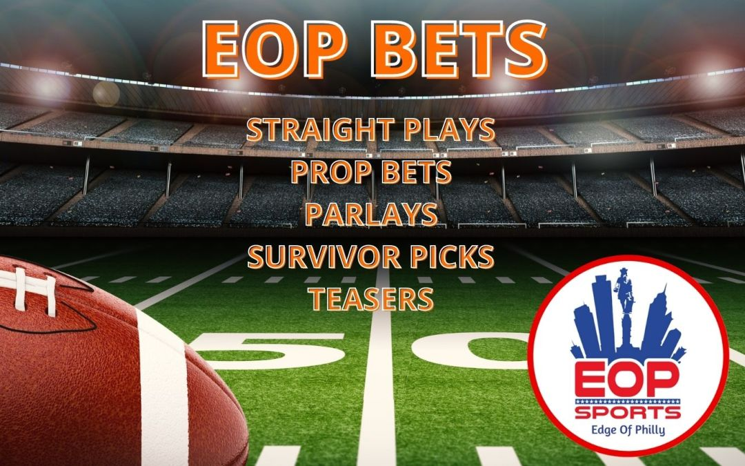 EOP BETS – NFL WEEK 9