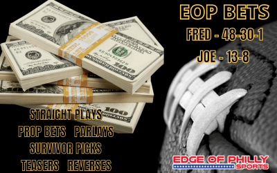 EOP BETS – WEEK 11 NFL SUNDAY