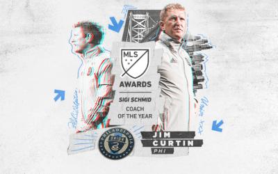 Jim Curtin Wins Coach of the Year!