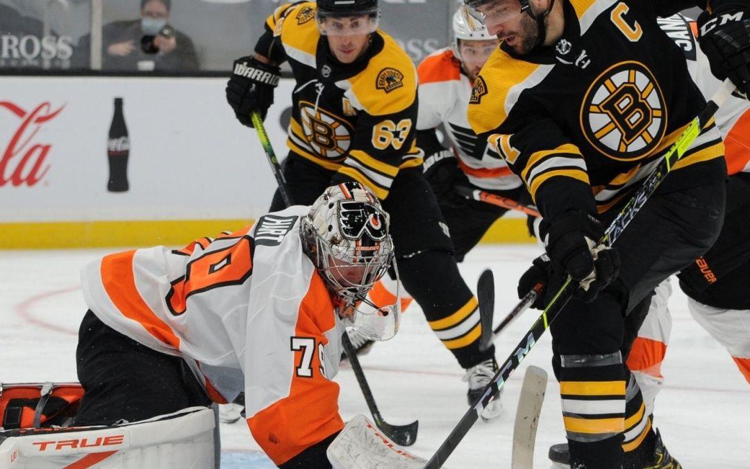Flyers Hand Bruins Overtime Win
