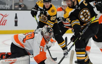 Flyers Hand Bruins Overtime Win