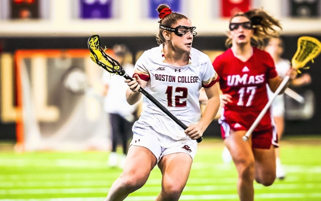 Boston College Lady Eagles Rout UMass