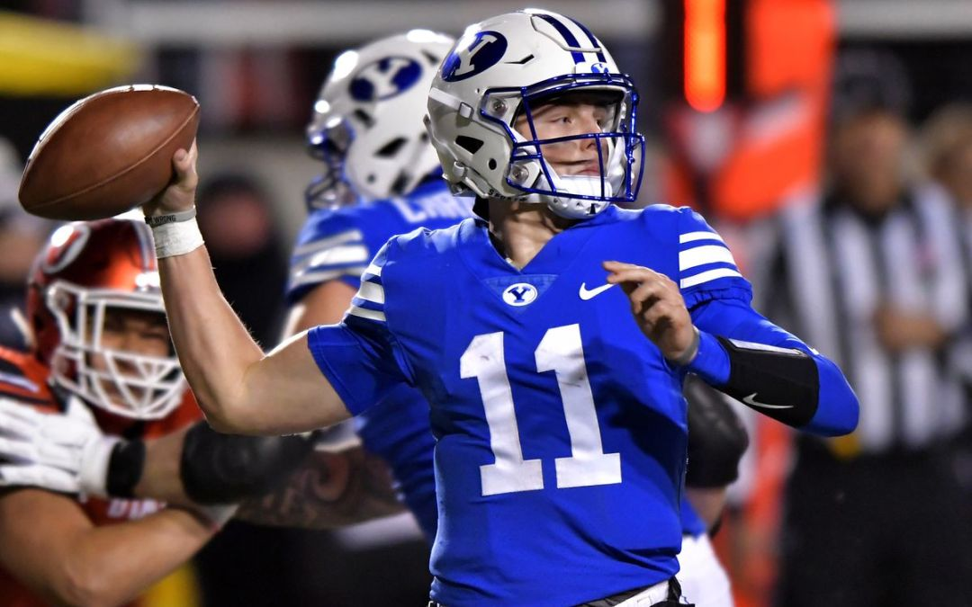 Could Zach Wilson be the best QB in the 2021 NFL Draft?