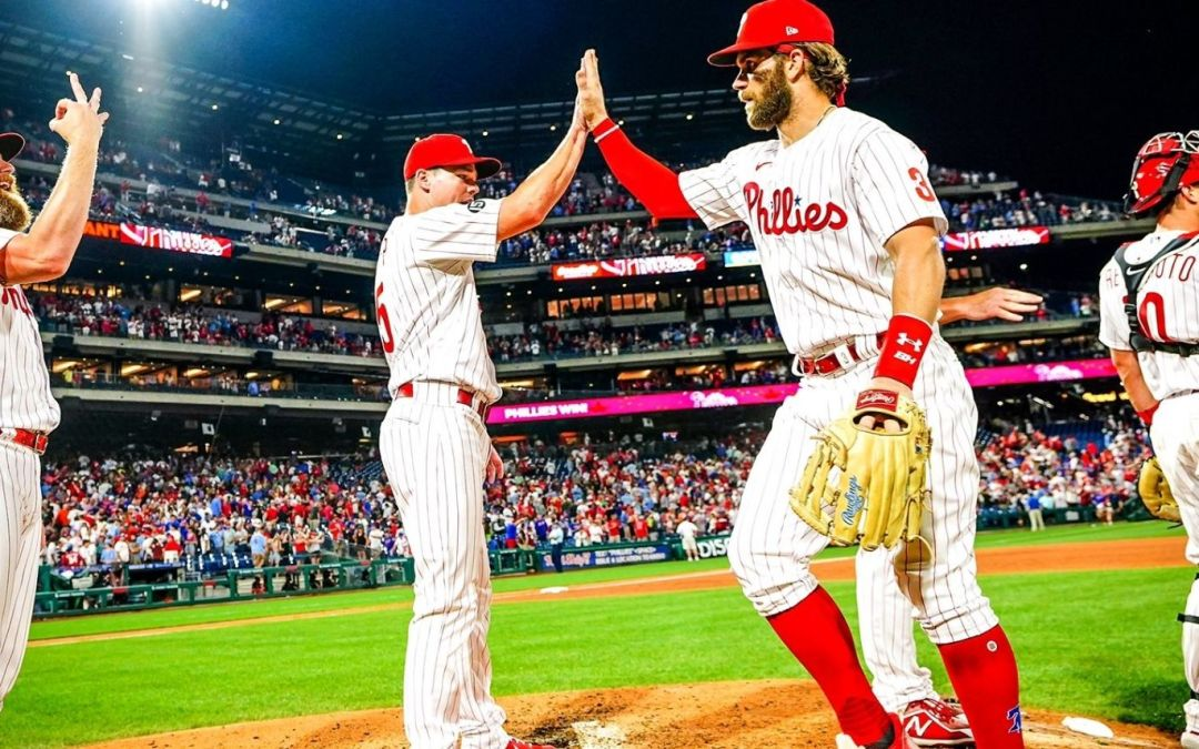 Phillies Take Over First With 4-2 Victory