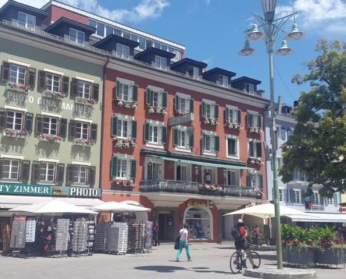 colorati palazzi a Lienz