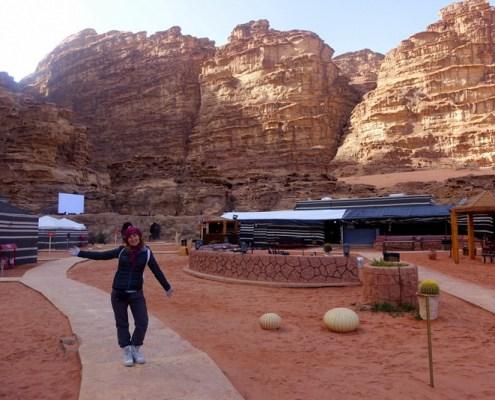 camp nel Wadi Rum
