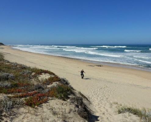spiaggia lungo il Cammino dei Pescatori