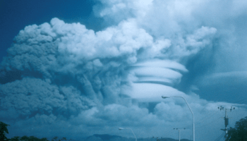 The 15 June 1991 eruption of Mount Pinatubo.