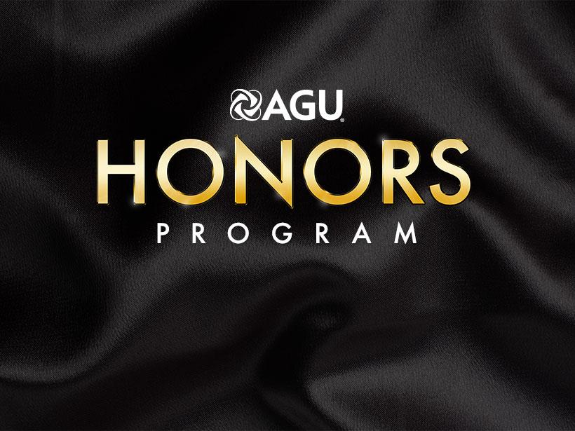 AGU honors program logo