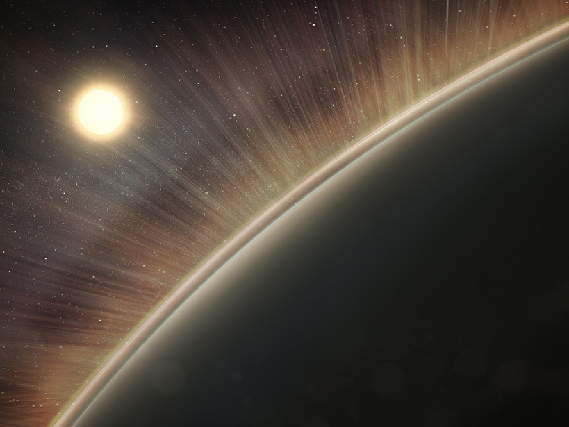 Electric winds remove the components of water from Venus's upper atmosphere.