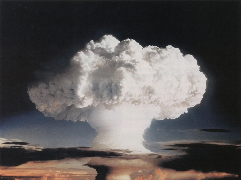 """""""Ivy Mike"""" nuclear test conducted in 1952 by the United States."""