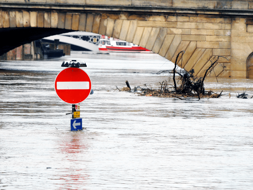 More-frequent extreme rain events are currently occurring in Europe, such as this flood in North Yorkshire, UK, in December 2015.