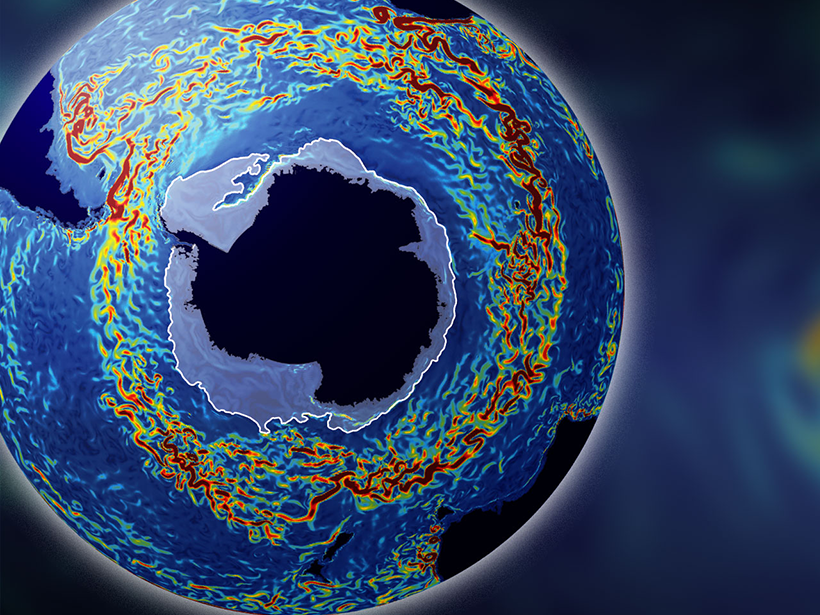 New research indicates the Antarctic Circumpolar Current is more powerful than scientists realized.