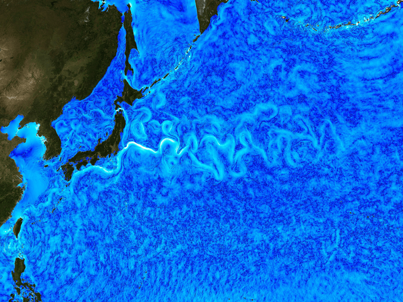 Researchers study fine-scale ocean dynamics in the western Pacific.