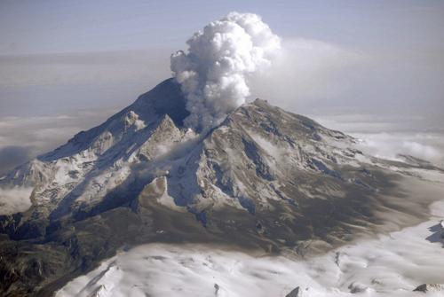 "Scientists identified characteristic ""fingerprints"" in the 2009 Redoubt Volcano eruption's tremor signals."