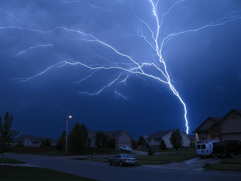 Researchers assess how human-made towers influence lightning data