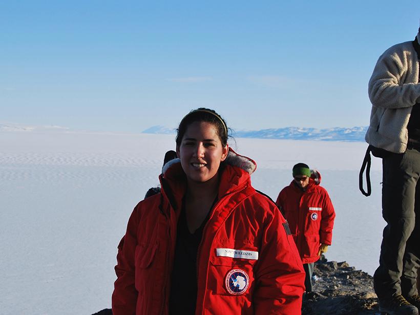 Nancy Williams at McMurdo Base