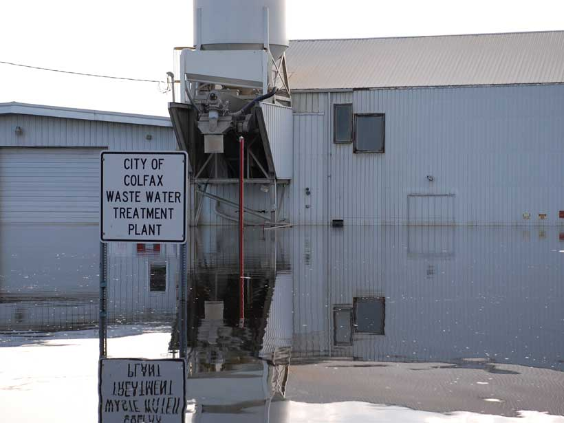 New research reveals how sea level rise threatens wastewater treatment plants.