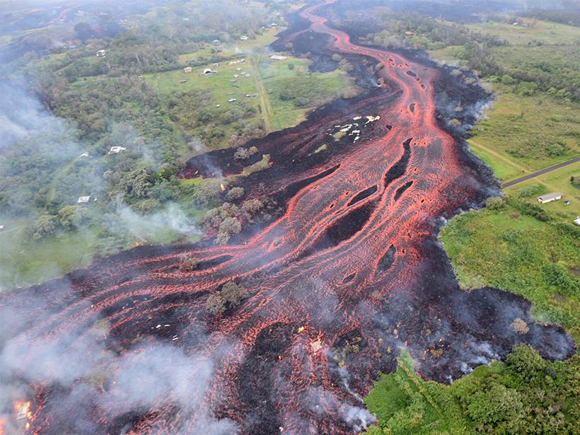 Kīlauea lava flows