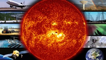 Space weather and infrastructure Credit NASA