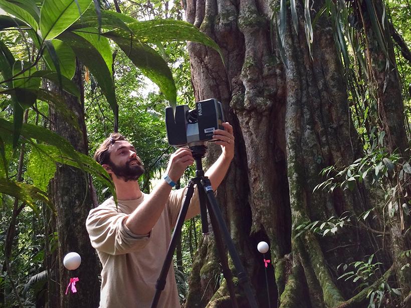 Atticus Stovall NASA postdoc Costa Rica research