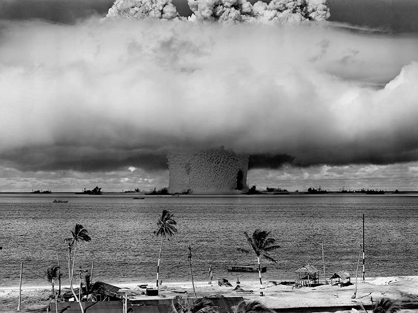 Operation Crossroads nuclear test Bikini Atoll